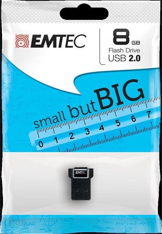 EMTEC 8GB MINI-NANO S200 (ECMMD8GS200)
