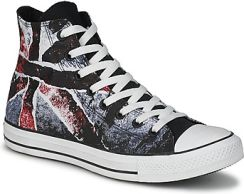Converse Buty ALL STAR DESTROYED UK FLAG HI White Blue Red