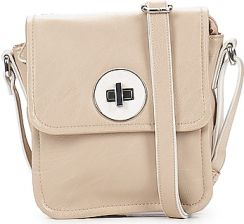 Benetton Torby / Saszetki WILLA SMALL FLAP CROSS BODY White