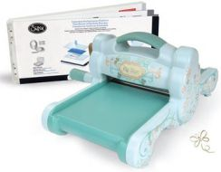 Sizzix Nowy Scrapbooking (Powder Blue & Teal) - do embossingu i wycinania [57-751-000]