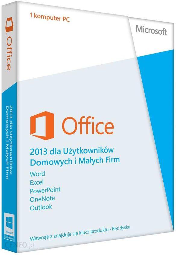 Microsoft Office 2011 dla komputerów Mac – wersja dla Użytkowników Domowych i Uczniów (T5D-01753)