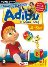 Adibu Czytam I Liczę 4 5 (Gra PC)