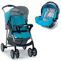 Graco Mirage Plus Spacerowy + Fotelik Tacka