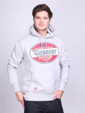 Superdry Bluza Dependable Classic Re Issue Hood jasnoszara rozm. XXL