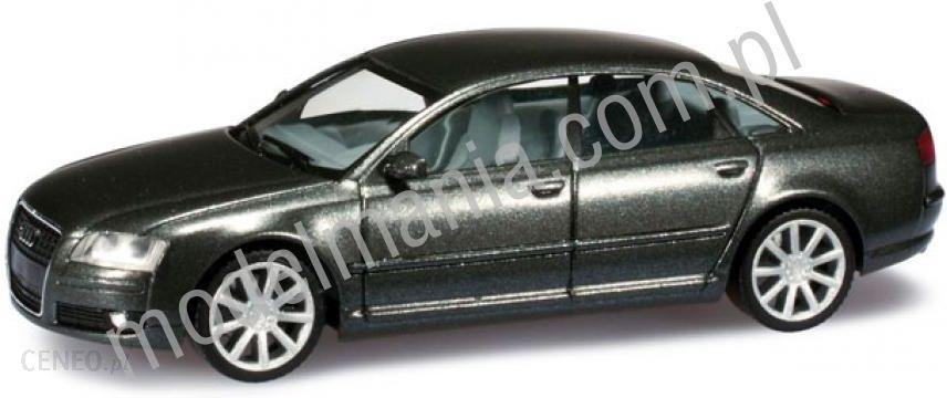 Audi A8 limuzyna®, srebrny metallic Herpa 034302-002