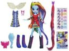 Hasbro My Little Pony Equestria Girls Rainbow Dash Z Akcesoriami A4121 A3995