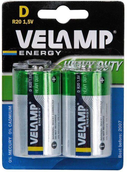 Velamp Bateria R20 1,5V 2Szt (Vr20/2Bp)