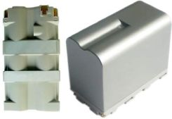 Hi-Power bateria do kamery Sony CCD-TR412E 7.2V 6600mAh Li-ion