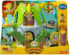Fisher Price - Jake I Piraci Z Nibylandii - Kryjówka Jake'A Y4605