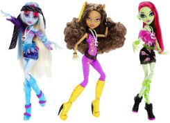 Mattel Monster High Koncert Abbey Bominable Y7692 Y7695