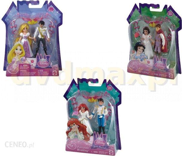 Mattel Disney Princess Para Ślubna Asortyment Bbd28