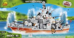 Cobi Small Army Battleship 800 Kl. 4803