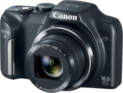 Canon PowerShot SX170 IS czarny