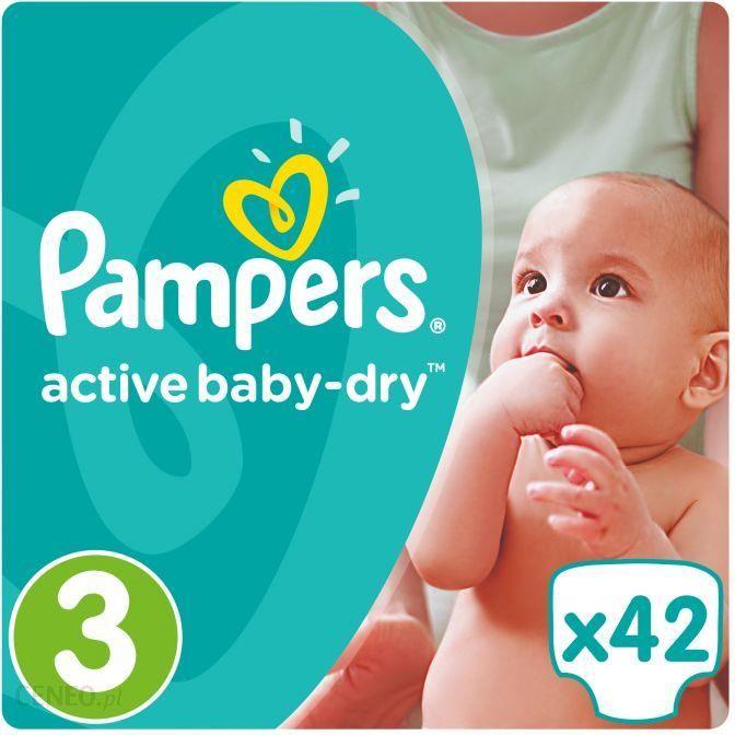 Pampers Active Baby MIP 3 Rozmiar Midi 42 Szt.