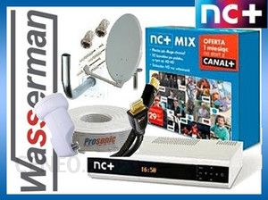 Kompletny  do NC+ MIX z Canal+