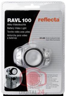 Reflecta RAVL 100 LED Video Light  (20304)