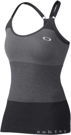 Oakley Top damski RACE DAY TANK Jet Black