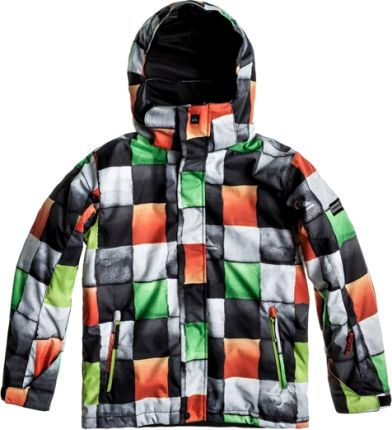 Quiksilver Jr Mission Youth Redemption Green
