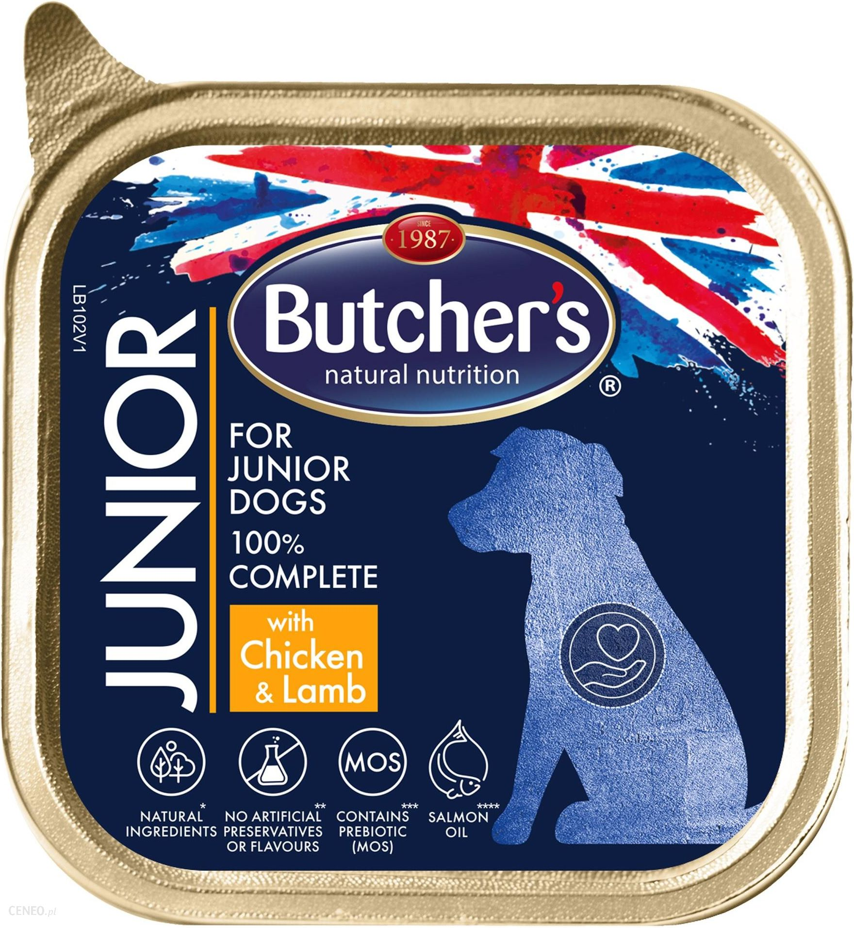 BUTCHERS GASTRONOMIA JUNIOR WITH TENDER   AND  150 G
