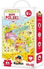 Bright Junior Media Czuczu Mapa Polski Puzzle