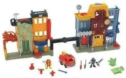 Fisher Price Imaginext Miejskie Centrum Ratunkowe Bdy60