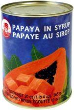 Cook Brand Papaya w kawałkach w syropie 565g