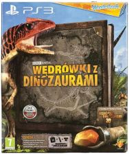 Wonderbook: Wędrówki z Dinozaurami + Wonderbook + PlayStation Move Starter Pack (Gra PS3)
