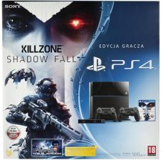 Sony PlayStation 4 + Killzone Shadow Fall + 2 pady + kamera
