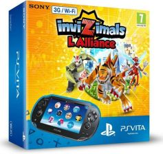 Sony PlayStation Vita 3G/Wi-Fi +Voucher Invizimals The Alliance