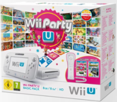 Nintendo Wii U Party Basic Pack Biały