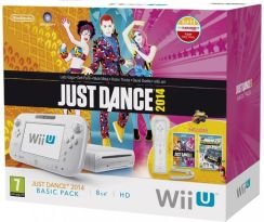 Nintendo Wii U Just Dance 2014 Basic Pack Biały