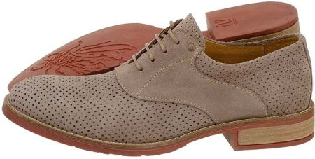 FLY London Buty Keys Souede Taupe (FL94-a) (szary)