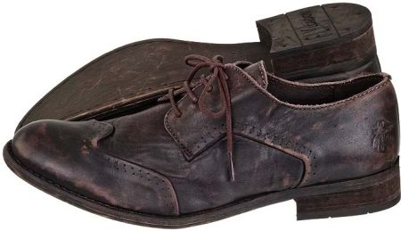 FLY London Buty Win Washed Leather Dark Brown (FL62-a) (brązowy)