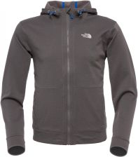 The North Face M Mittellegi Full Zip Fleece Hoodie Graphite Grey S