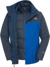 The North Face M Mountain Light Triclimate BLue XL