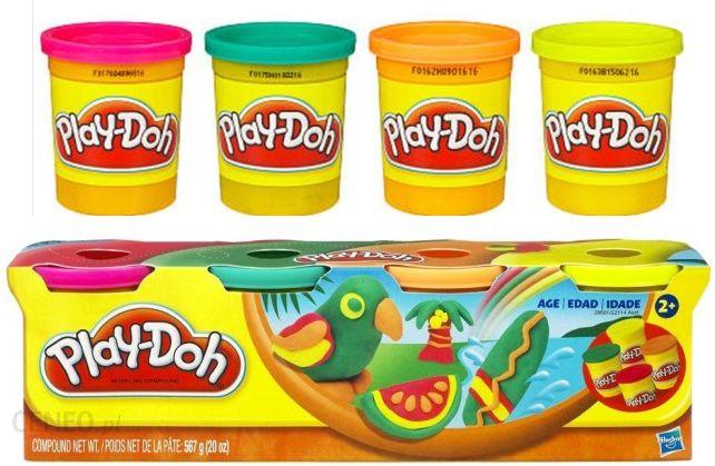 Hasbro Play Doh Ciastolina 4 Tuby 28501