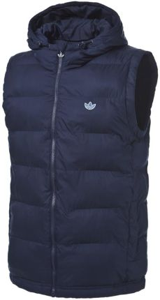 Adidas Spo Hooded Gilet Jacket Navy L,