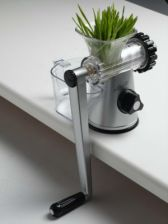 Lexen Products Green Power Health Juicer Silver