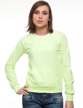 Bluza Damska Model H-35-006 YELLOW - Funk n soul