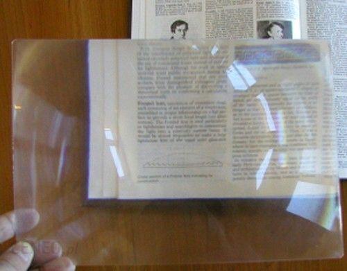 LEMI Arkusz powiększający soczewka FRESNELA 255x180