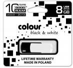 goodram FLASHDRIVE 8192MB USB 2.0 BLACK&WHITE (PD8GH2GRCOKWR9)