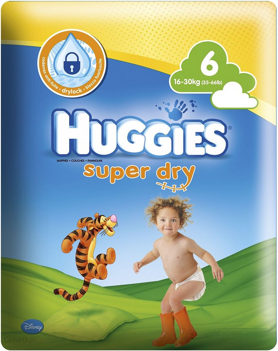 Huggies Super Dry 6 Giga 42 szt