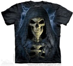 Death in Chains - T-shirt The Mountain