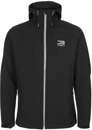 Jack & Jones Tech ZIERRA Kurtka Softshell czarny