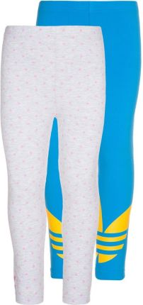 adidas Originals 2 PACK Legginsy szary F50843