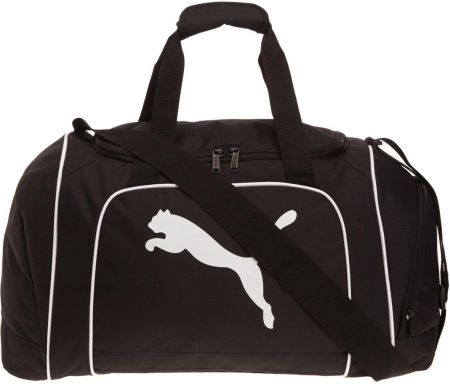 Puma Team Cat Medium Bag Black/White
