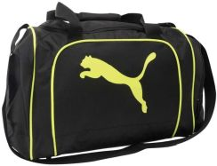 Puma Team Cat Medium Bag Black/Yellow