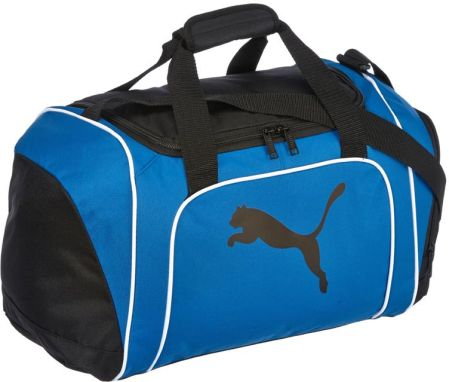 Puma Team Cat Small Bag Black/Power Blue