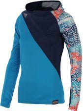 bluza do biegania damska ADIDAS AKTIV HOOD LONGSLEEVE TEE