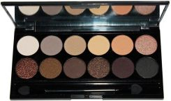 Sleek Makeup paleta cieni do powiek Au Naturel